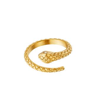Eye of the Snake Ring