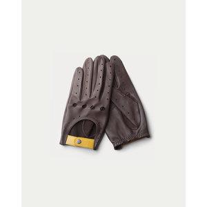 Triton Driving Gloves Black Coffee