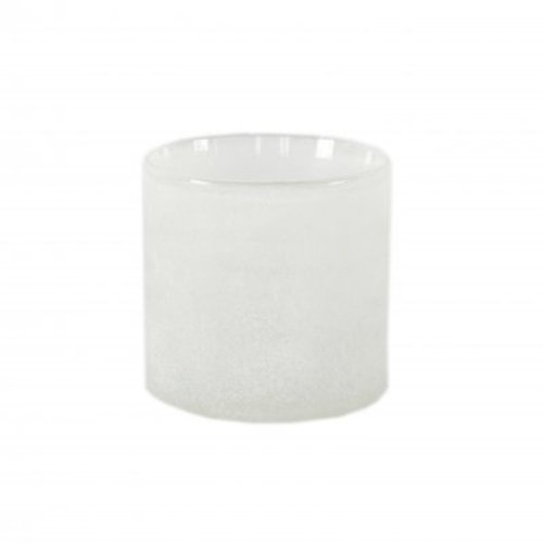 Tell Me More Frost candleholder White S