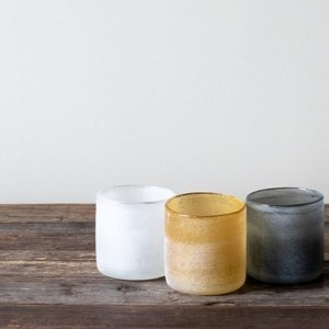 Frost candleholder Grey S