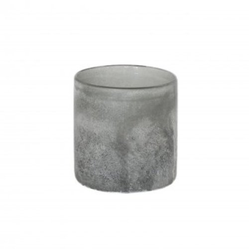 Tell Me More Frost candleholder Grey S