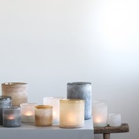 Tell Me More Frost candleholder White M