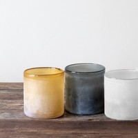 Tell Me More Frost candleholder Grey M