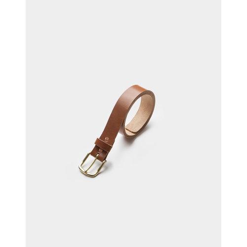 Café Leather Leather Belt Roasted 35mm