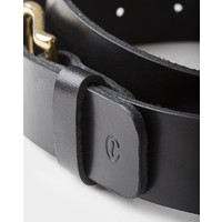 Café Leather Leather Belt Black 35mm