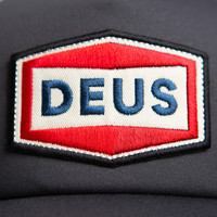 Deus Ex Machina Speed Stix Trucker Black