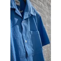 Castart Tigertooth shirt SL French Blue