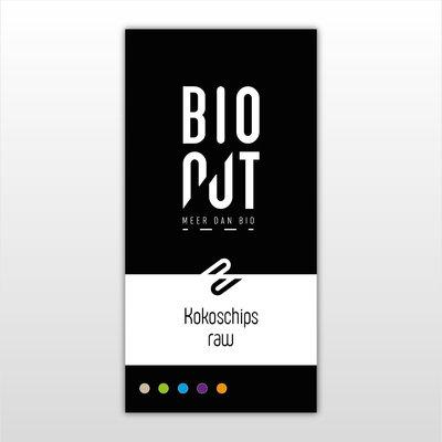 BioNut BIONUT - kokos* - raw - chips - 6 x 400 gr.