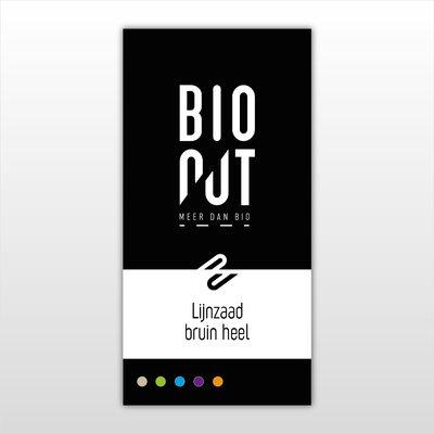 BioNut BIONUT - lijnzaad* - bruin - heel - 6 x 375 gr.