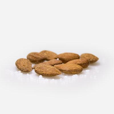 Amandelen* - bruin - droog geroosterd