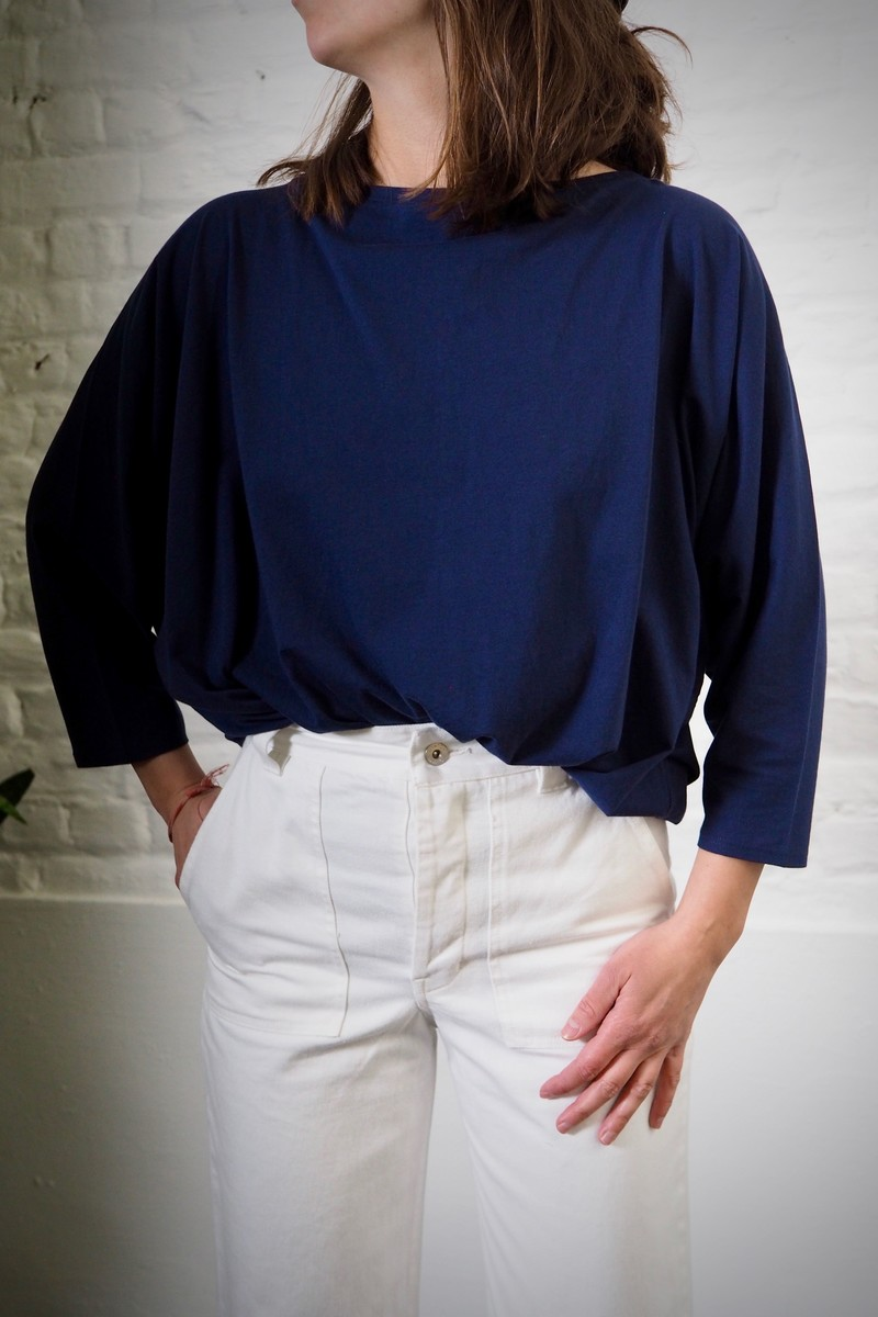 Kowtow Relaxed Boat Neck tee