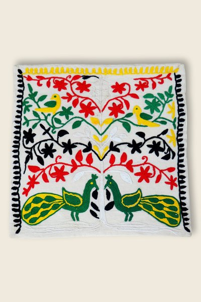 Artisanat Inde Embroidered Cushion Cover 5