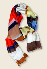 Epice Printed scarf STRIPE