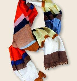 Epice Printed scarf STRIPE