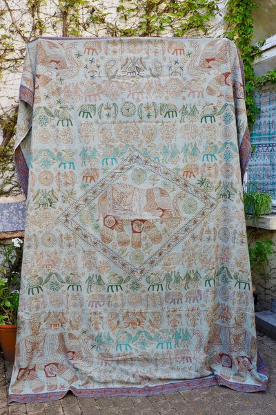 Artisanat Inde Indian Throw 2