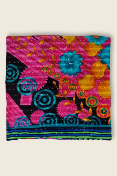 Artisanat Inde Cushion Kantha 4