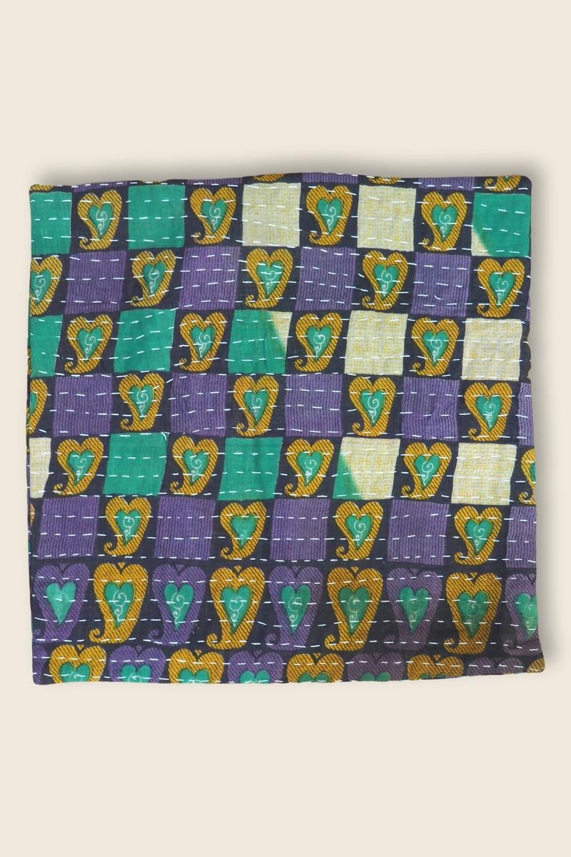 Artisanat Inde Cushion Kantha 3