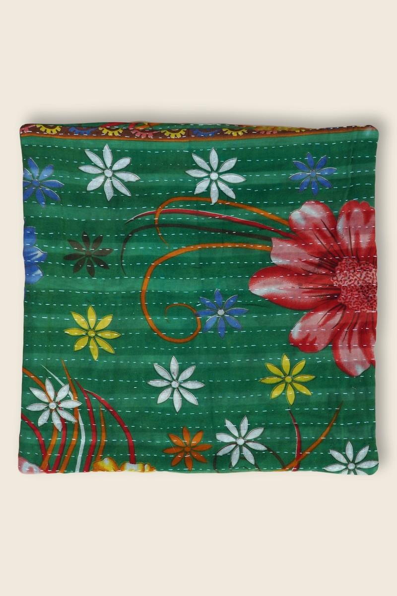 Artisanat Inde Cushion Kantha 1