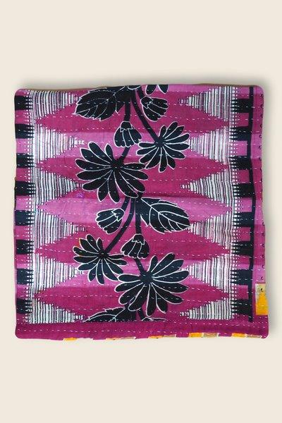 Artisanat Inde Cushion Kantha 5