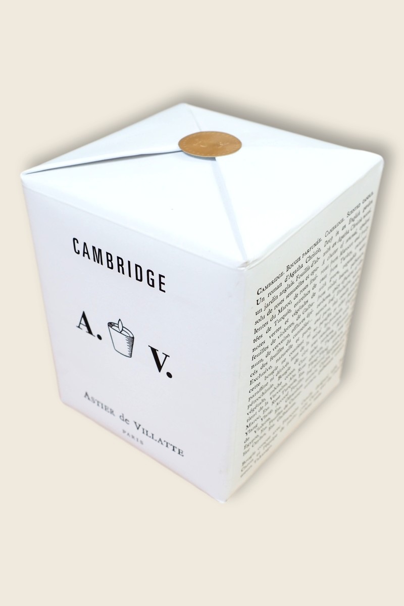 Astier de Villatte Cambridge candle
