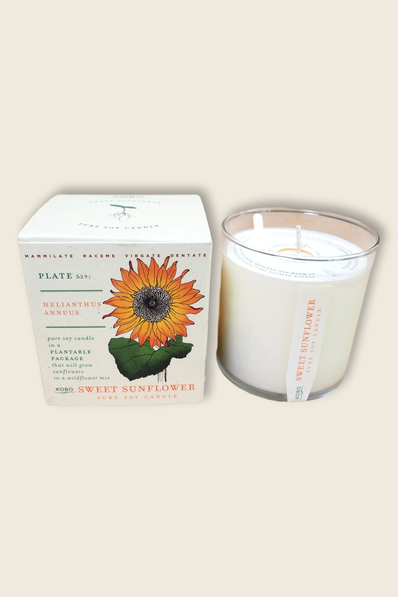 kobo Sunflower Soy Candle