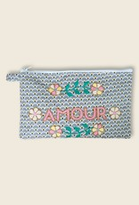 Graphie Sud Embroidered Pouch 1
