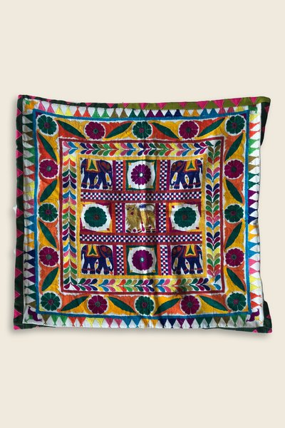 Artisanat Inde Indian Cushion Cover 1