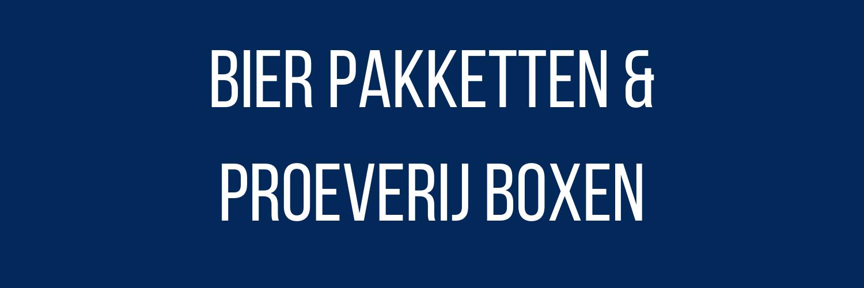 Bier Pakketten & Proef Boxen