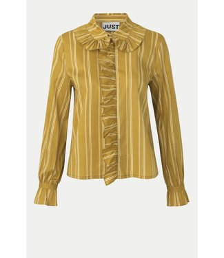 Just Female Giva shirt, Amber stripe
