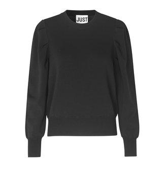 Just Female Amber knit, Black