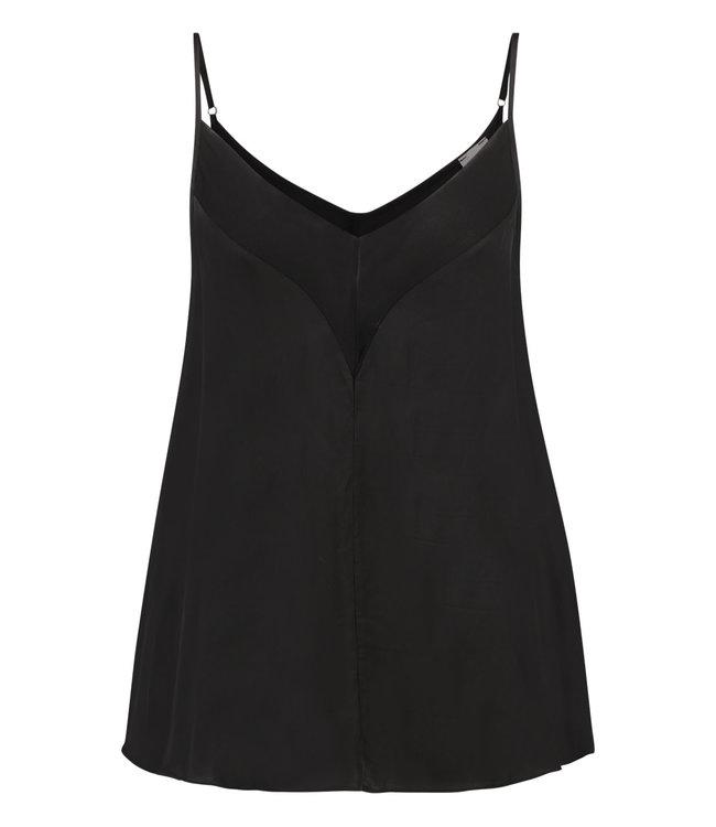 SIMPLE Olf singlet, Black