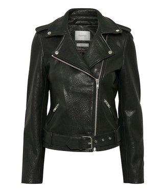 Gestuz Zillagz, Black leather