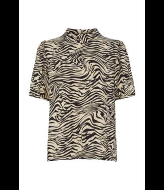 Just Female Sephina blouse, Zebra