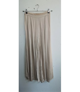 Pants silk, beige