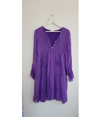 Dress flute slik, Purple
