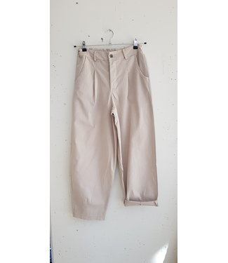 Pants mommy fit, Off white
