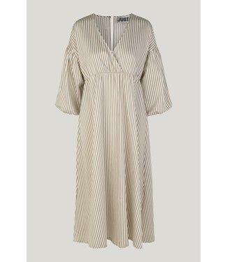 Just Female Paxton dress, Kelp stripe