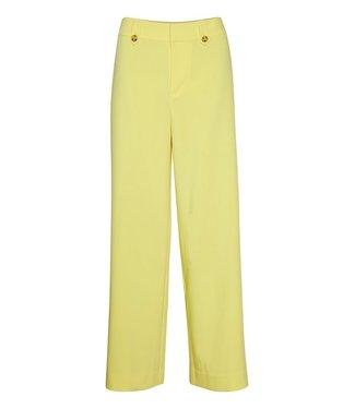 Gestuz Reem wide pants, Yellow