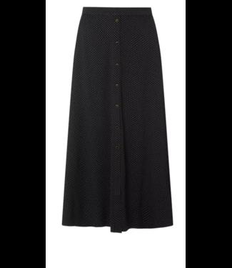 Gestuz Colina skirt, black dots