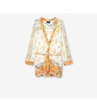 ALIX the label Fancy mix kimono, off white
