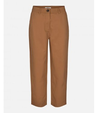 Moss Copenhagen Kali ankle pants, Tobacco brown