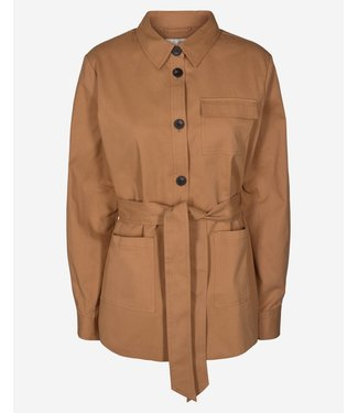 Moss Copenhagen Kali jacket, Tobacco