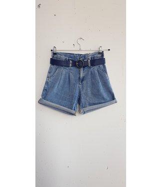 Short high jeans, Blue