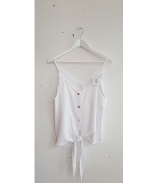 Singlet knotted, White