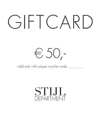 Giftcard €50,-