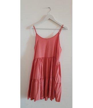 Dress short singlet wide, Pink