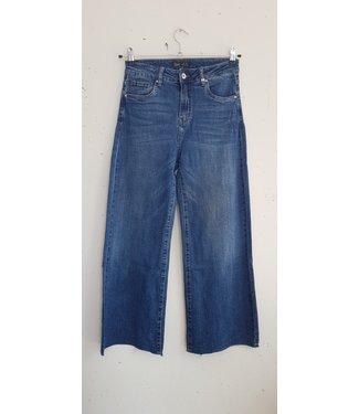 Jeans denim wide, Blue
