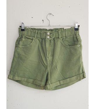 Short jeans, Green