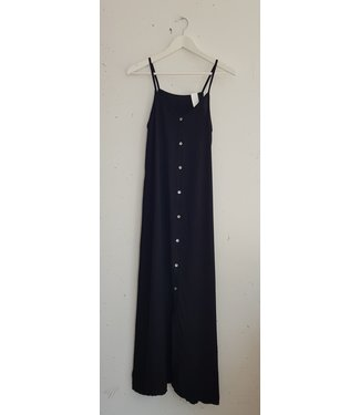 Dress singlet button, Black