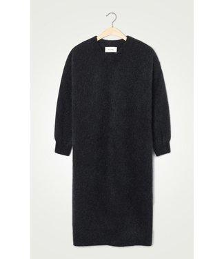 American Vintage Robe manches zabi14a, Black